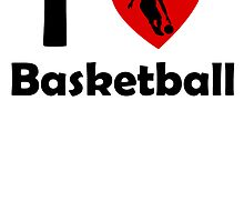 I Heart Basketball by kwg2200