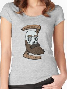 Bearded til the end Women's Fitted Scoop T-Shirt