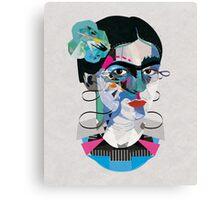 Frida Geo Canvas Print