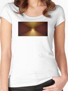 Passageway Women's Fitted Scoop T-Shirt