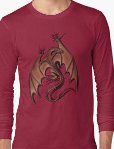 Smaug on your shirt! Long Sleeve T-Shirt