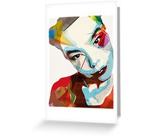 Bjork Greeting Card