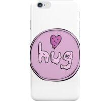 hug love heart iPhone Case/Skin