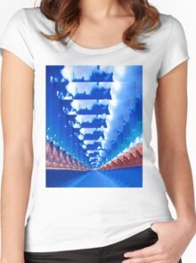 INFINITY LANDSCAPE Women's Fitted Scoop T-Shirt