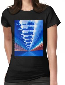 INFINITY LANDSCAPE Womens Fitted T-Shirt