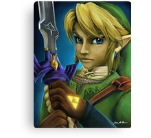 Twilight Princess Link Fan Art Print Canvas Print