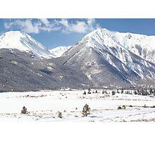Twin Lakes Photographic Print