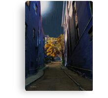 One Way Street Canvas Print