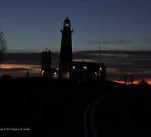 Lighthouse   Montauk Point, New York by © Sophie W. Smith