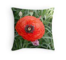 Poppy #7 Throw Pillow