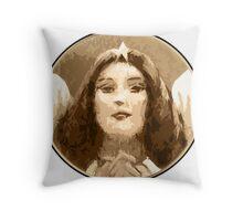 Angel Grace Throw Pillow