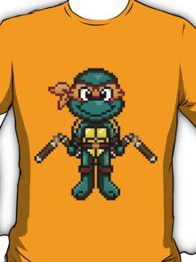 TMNT Michelangelo Pixel T-Shirt