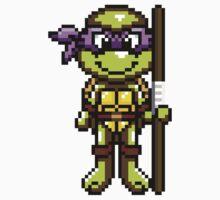 TMNT Donatello Pixel by geekmythology
