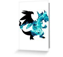 Mega Charizard X used Blast Burn Greeting Card
