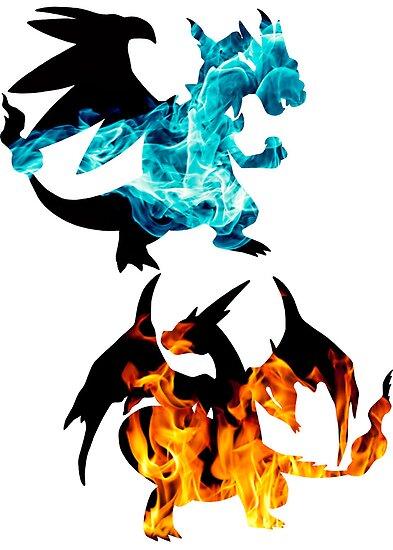 Mega Charizard X and Y used Blast Burn by Gage White