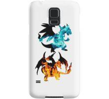 Mega Charizard X and Y used Blast Burn Samsung Galaxy Case/Skin