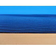 Sand, Sea and Sky Photographic Print