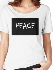 Peace Women's Relaxed Fit T-Shirt
