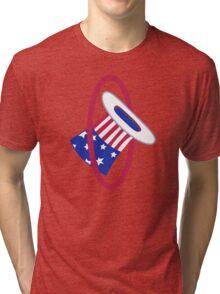 94th Fighter Squadron Emblem Tri-blend T-Shirt