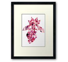 Diancie used Diamond Storm Framed Print