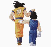 Goku&Vegeta by po4life