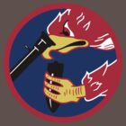 492d Fighter Squadron Emblem by warbirdwear