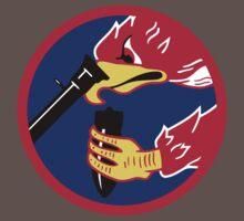 492d Fighter Squadron Emblem One Piece - Short Sleeve