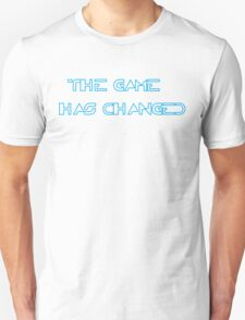 The Game has changed - Tron Legacy Unisex T-Shirt
