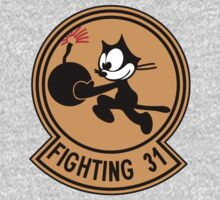 VFA-31 Fighting 31 Emblem Kids Tee