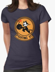 VFA-31 Fighting 31 Emblem Womens Fitted T-Shirt