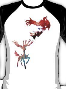Xerneas vs Yveltal T-Shirt