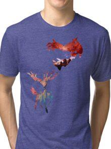 Xerneas vs Yveltal Tri-blend T-Shirt
