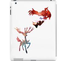 Xerneas vs Yveltal iPad Case/Skin
