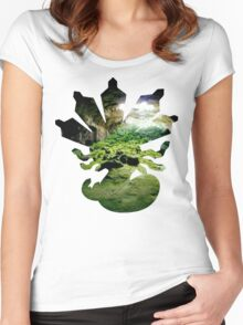 Zygarde used Camouflage Women's Fitted Scoop T-Shirt