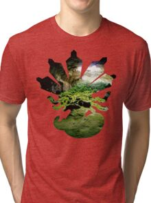 Zygarde used Camouflage Tri-blend T-Shirt