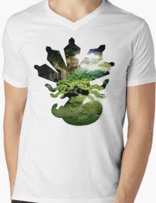 Zygarde used Camouflage Mens V-Neck T-Shirt