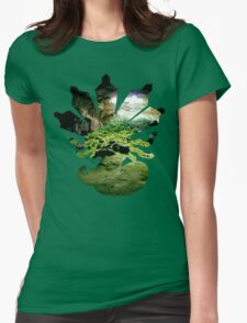 Zygarde used Camouflage Womens Fitted T-Shirt