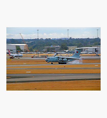 China Air Force Ilyushin Il-76 - Perth Airport Photographic Print