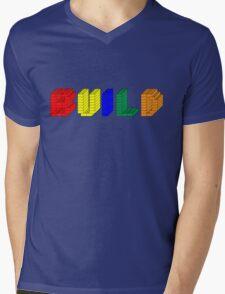 Build Mens V-Neck T-Shirt
