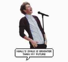 niall's smile by aiexturner