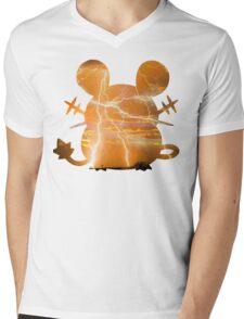 Dedenne used Thunder Mens V-Neck T-Shirt