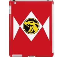 Red Poké Ranger iPad Case/Skin