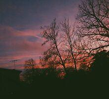6:34, suburbs, winter by Govinda
