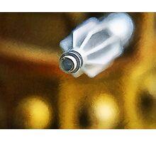 Dalek attack, the blast gun Photographic Print