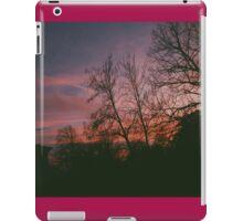 6:34, suburbs, winter iPad Case/Skin