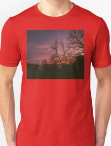 6:34, suburbs, winter Unisex T-Shirt