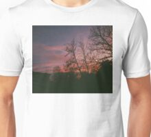 6:34, suburbs, winter Unisex T-Shirt