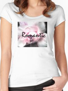 Romantic Women's Fitted Scoop T-Shirt