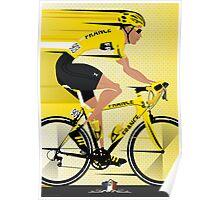 France Yellow Jersey Poster