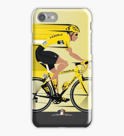France Yellow Jersey iPhone Case/Skin